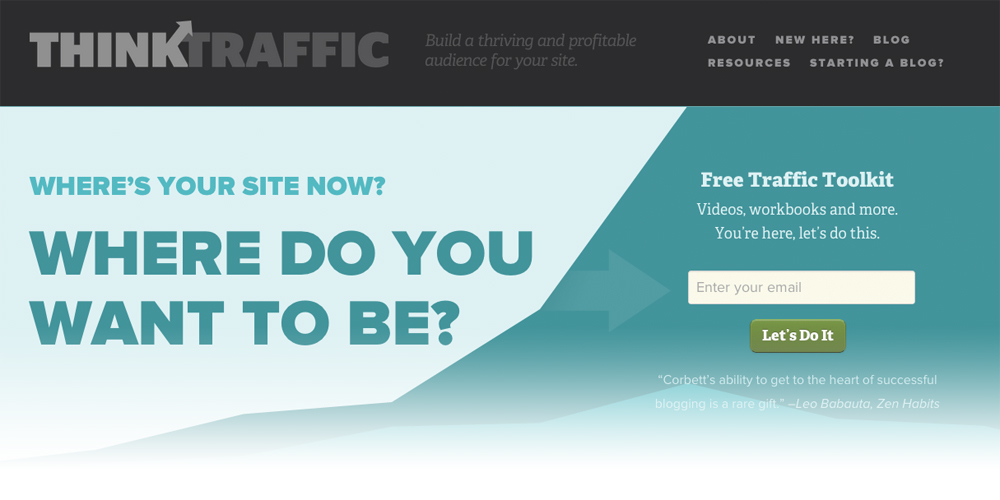 Think Traffic The 10 Best Blogs to Help You Get Traffic