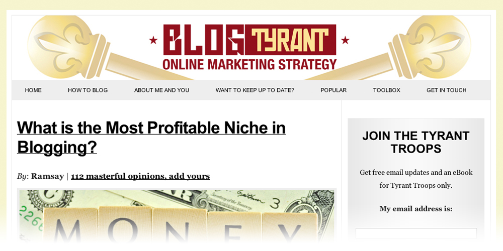 blog tyrant The 10 Best Blogs to Help You Get Traffic